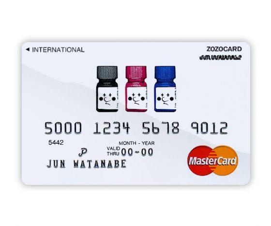 MasterCard ZOZOCARD by JUN WATANABE
