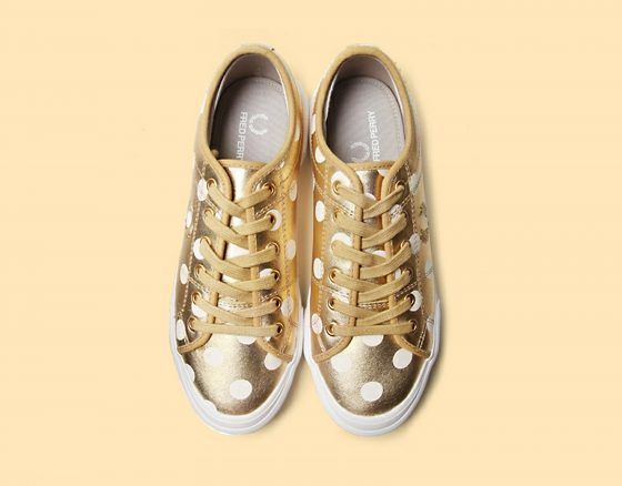 JUN WATANABE×FRED PERRY VINTAGE TENNIS SHOES