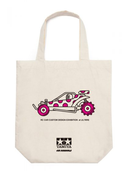 TOTE BAG for RC CAR CUSTOM DESIGN EXHIBITION 2015