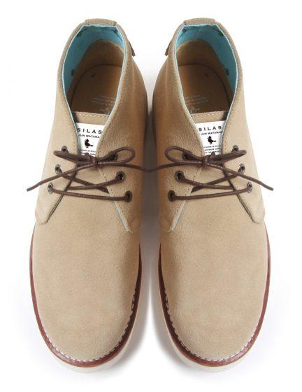 SILAS by JUN WATANABE x UBIQ Chukka boots