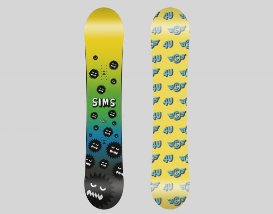 SIMS SNOWBOADS