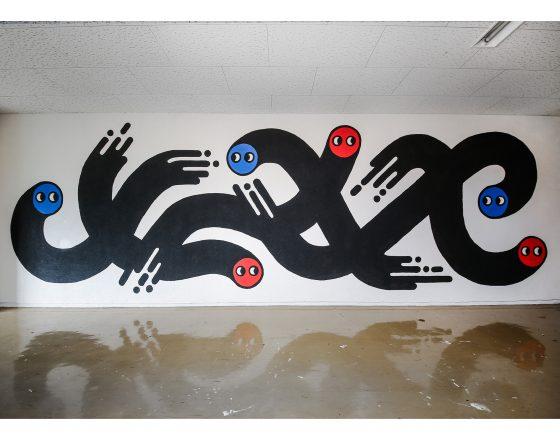 Niigata Skate Park Wall Art