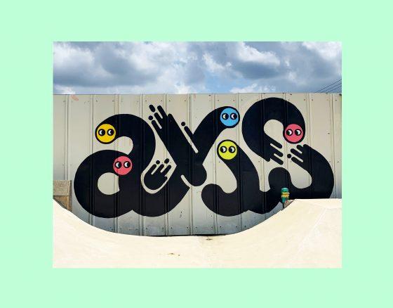 AXIS SKATEBOARD PARK Wall Art