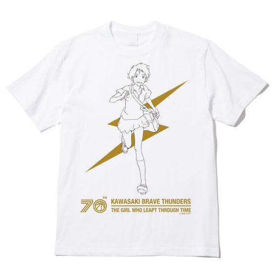 川崎ブレイブサンダース  x 時をかける少女