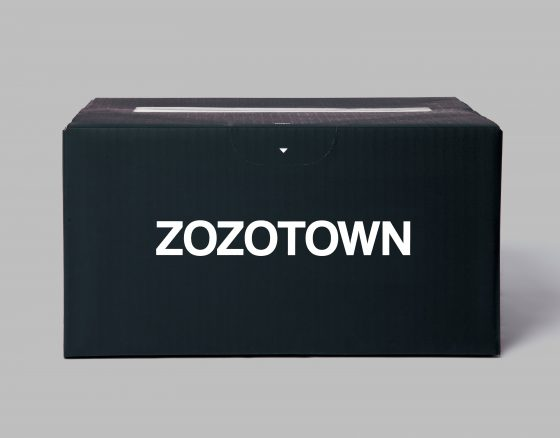 ZOZOTOWN SHIPPING BOX