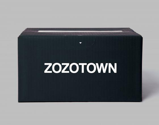 ZOZOTOWN SHIPPING BOX